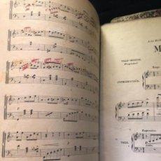 Partituras musicales: LIBROS DE PARTITURAS ORIGINALES DE ANGEL PEÑALVA TELLEZ MUSICO MAYOR DEL 51 REGIMIENTO INFANTERIA. Lote 221748717