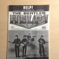 Partituras musicales: BEATLES - HELP PARTITURA JAPONESA 1965. Lote 222185575
