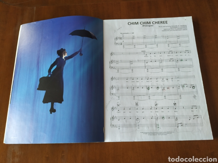 Partituras musicales: Partitura, partituras MARY POPPINS piano/vocal Selections. Hal.Leonard. - Foto 7 - 223350942