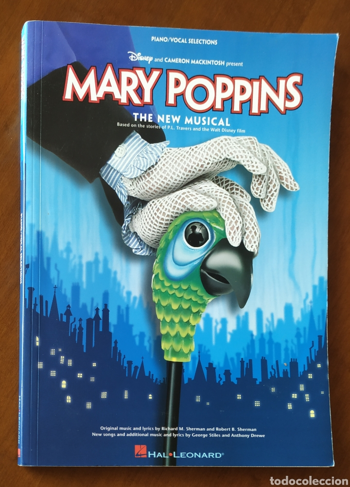 Partituras musicales: Partitura, partituras MARY POPPINS piano/vocal Selections. Hal.Leonard. - Foto 8 - 223350942