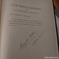 Partituras musicales: CANCIONES ITALIANAS FIRMA Y PROPIEDAD DE LA CANTANTE DE OPERA ANGELES OTTEIN LA MAYORIA ESCRITAS A. Lote 223470755
