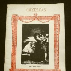 Partiture musicali: GOYESCAS (1914) PARTITURA - E. GRANADOS - 1ª PARTE LOS MAJOS ENAMORADOS - SUITE PIANO (BUEN ESTADO). Lote 223906182
