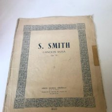 Partituras musicales: PARTITURA S. SMITH. Lote 226291705