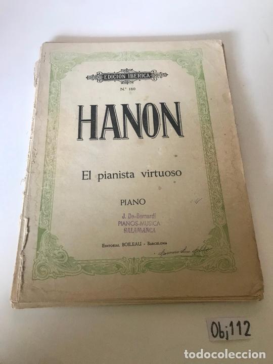 PARTITURA HANON - EL PIANISTA VIRTUOSO (Música - Partituras Musicales Antiguas)