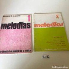 Partituras musicales: CELEBRACIÓN DE LA EUCARISTÍA 1 Y 2. Lote 226297950