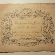 Partituras musicales: LA REINA DE LAS FLORES, PARA PIANO POR M. FAYULA. 2 PAG. NOTACIÓN MANUSCRITA. SEVILLA 1862.. Lote 228323330