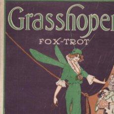 Partituras musicales: ALF NELSON : GRASSHOPER (RICARDO RIBAS) FOX TROT. Lote 230227200