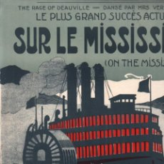 Partituras musicales: CARROLL & FIELDS / SALABERT : SUR LE MISSISSIPI (SALABERT). Lote 230228225