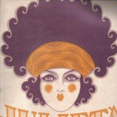 Partituras musicales: SALVATELLA Y LORCA / VILADOMAT : JULIETA (UNION MUSICAL) TANGO. Lote 230231095