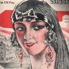 Partituras musicales: VICTOR MORA / FRANCESC PAYÁS : LA FADRINETA DEL FIRAL (NEW PHONO) SARDANA. Lote 230235220