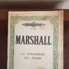 Partituras musicales: PARTITURA MARSHALL EDICIÓN IBÉRICA. Lote 231350795