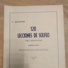 Partituras musicales: CONJUNTO DE PARTITURAS Y OTROS DE MÚSICA. Lote 232065325