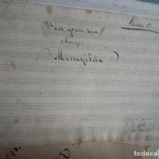 Partituras musicales: PARTITURA MANUSCRITO LA GRAN VIA FIRMADA Y RUBRICADA POR FABREGALL ? 20 - SEPTIEMBRE DE 1887. Lote 26755374