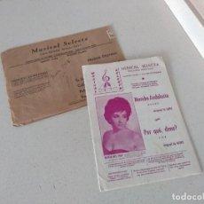 Partituras musicales: ANTIGUAS PARTITURAS AÑO 1964 MAMBO ANDALUCIA Y POR QUÉ, DIME? (FOX) EDICIONES SELECTAS. Lote 233828800