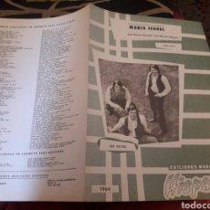 Partituras musicales: PARTITURA, MARIA ISABEL DE LOS PAYOS, EDICIÓNES MUSICALES HISPAVOX DE 1964. Lote 235280000