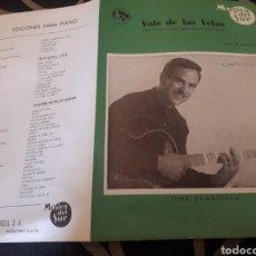 Partituras musicales: ANTIGUA PARTITURA, VALS DE LAS VELAS, POR JOSÉ GUARDIOLA. Lote 235285045