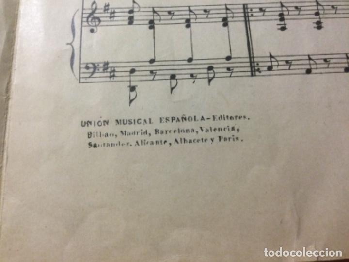Partituras musicales: Partitura Seguidilla Madrileña Para Voces de Niños. Ricardo Boronat - Foto 3 - 235331105