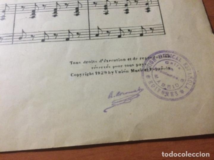 Partituras musicales: Partitura Seguidilla Madrileña Para Voces de Niños. Ricardo Boronat - Foto 4 - 235331105