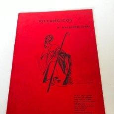 Partituras musicales: VILLANCICOS. Lote 235712065