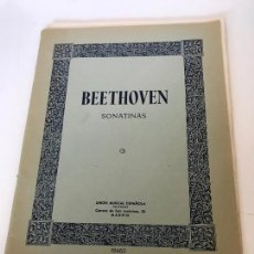 Partituras musicales: BEETHOVEN. Lote 235713420