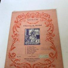 Partituras musicales: VILLANCICOS DE NAVIDAD. Lote 295906138