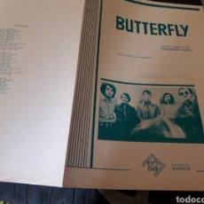 Partituras musicales: ANTIGUA PARTITURA, BUTTERFLY, DE FERNANDO ARBEX, POR LOS BRINCOS. Lote 235946375