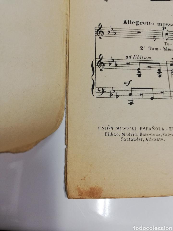 Partituras musicales: ¡Ay, no me dejes sola! Creación de Raquel Meller. 2,50 pesetas. - Foto 2 - 236890890