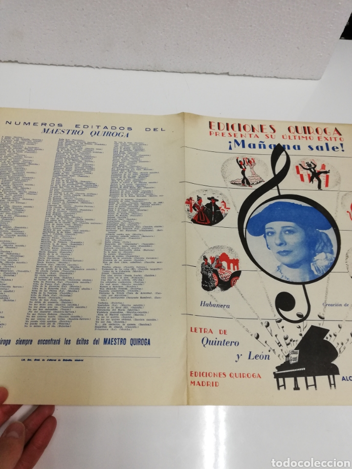 Partituras musicales: Ediciones Quiroga presenta su último éxito. ¡Mañana sale! - Foto 5 - 236891590