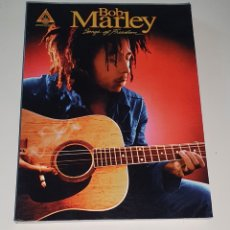 Partiture musicali: BOB MARLEY / TABLATURA GUITARRA / SONGS OF FREEDOM. Lote 240504470