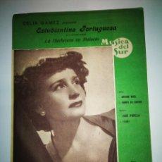 Partiture musicali: CELIA GOMEZ, ESTUDIANTINA PORTUGUESA. Lote 240934370