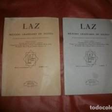 Partiture musicali: LAZ MÉTODO GRADUADO DE SOLFEO LIBROS III Y V.. Lote 241428935