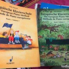 Partituras musicales: LOTE LIBROS PARTITURA PARTITURAS PIANO FRITZ EMONTS APRENDER PIANO PARA PRINCIPIANTES MÉTODO EUROPEO. Lote 243306675