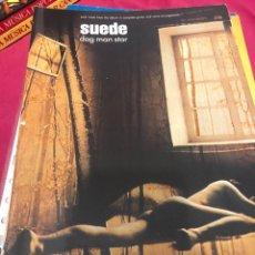 Partituras musicales: LIBRO PARTITURA SUEDE DOG MAN STAR ALBUM CD ROCK PIANO VOZ GUITARRA VOCAL GUITAR COMING UP METALLICA. Lote 243307700