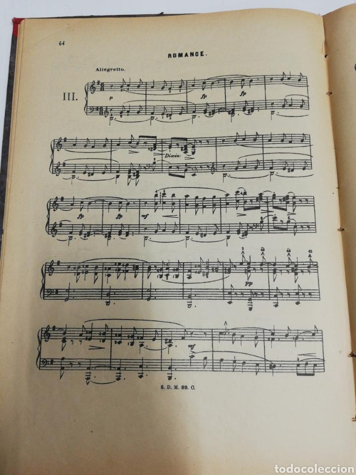 Partituras musicales: Estudios para piano. Encuafernado tapa dura.Escuela elemental de piano. Dividida en 5 volúmenes. - Foto 3 - 243991925
