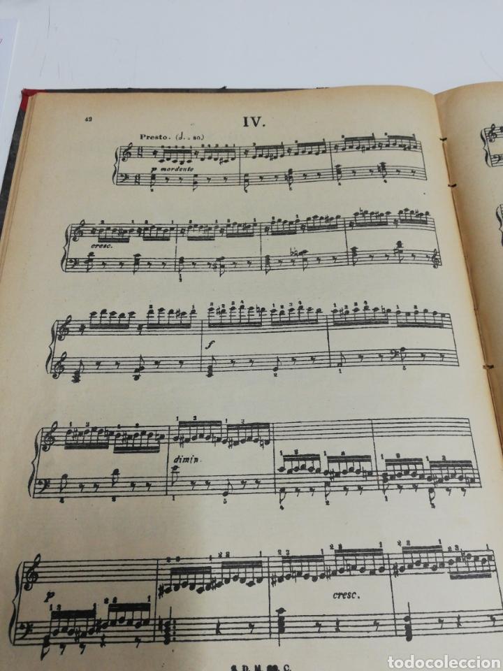 Partituras musicales: Estudios para piano. Encuafernado tapa dura.Escuela elemental de piano. Dividida en 5 volúmenes. - Foto 5 - 243991925