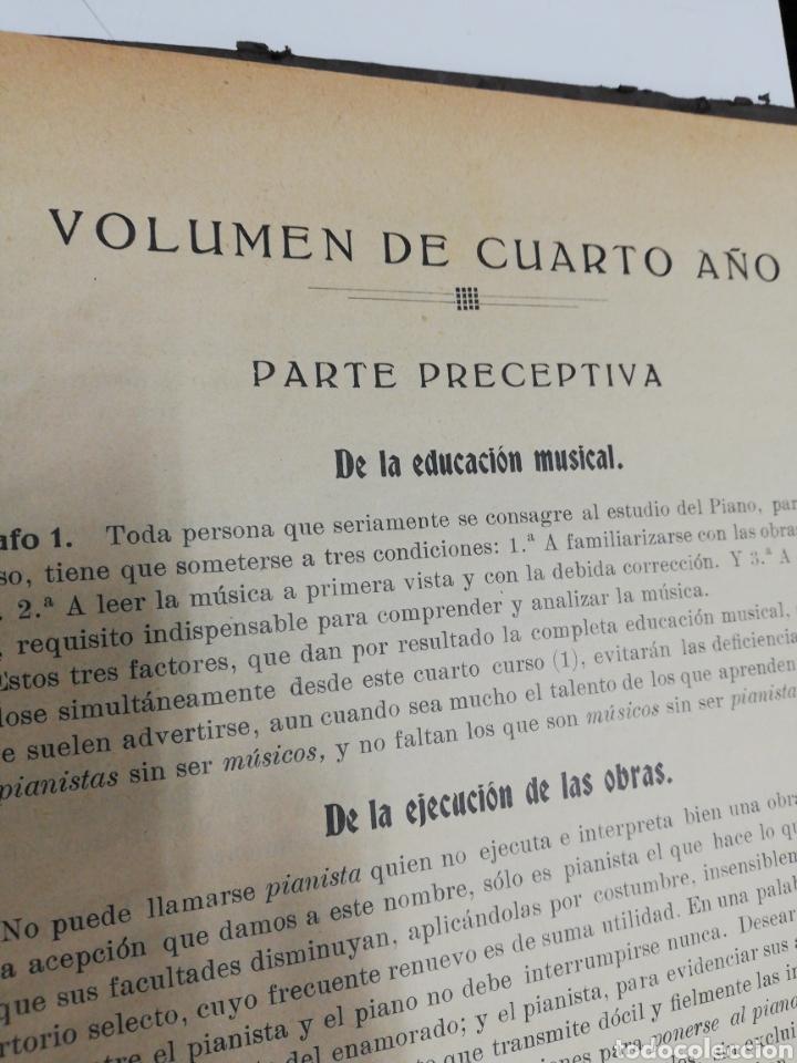 Partituras musicales: Estudios para piano. Encuafernado tapa dura.Escuela elemental de piano. Dividida en 5 volúmenes. - Foto 9 - 243991925