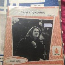 Partituras musicales: GRAN LOTE DE 49 PARTITURAS MUSICALES MARÍA OSTIZ LP SINGLE CD CASETE FESTIVAL OTI CECILIA MARI TRINI. Lote 244428365