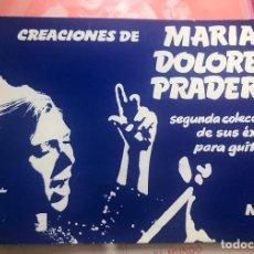 Partiture musicali: LOTE PARTITURAS PARTITURA CREACIONES DE MARÍA DOLORES PRADERA FERNANDO FERNAN GOMEZ LP CD SINGLE DVD. Lote 266043018