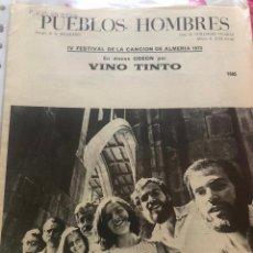 Partituras musicales: LOTE PARTITURAS PARTITURA GRUPO MUSICAL VINO TINTO LP CD SINGLE AGUAVIVA NUESTRO PEQUEÑO MUNDO CASE. Lote 244464000