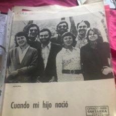 Partituras musicales: LOTE PARTITURAS PARTITURA GRUPO FOLK AGUAVIVA AGUA VIVA POETAS ANDALUCES DE AHORA MANOLO DIAZ LP CD. Lote 244466295