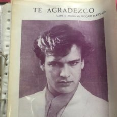 Partituras musicales: PARTITURA CANTANTE ESPAÑOL ESPAÑA IVAN JUAN CARLOS RAMOS VAQUERO FOTONOVELA LP CD SINGLE AÑOS 80. Lote 244466490