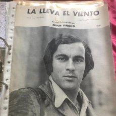 Partituras musicales: PARTITURA CANTANTE ESPAÑOL JUAN PABLO PIQUE LP CD SINGLE PAU PIQUE CAMBRILS CANTANTE CATALÁN CASETE. Lote 244466825