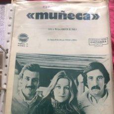 Partituras musicales: LOTE PARTITURAS PARTITURA GRUPO MUSICAL TRIGO LIMPIO AMAYA SAIZAR PATRICIA FERNÁNDEZ GOBERNA LP CD. Lote 244467305