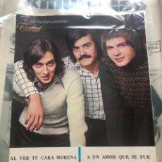 Partituras musicales: PARTITURA PARTITURAS GRUPO TRÉBOL LP CD SINGLE CARMEN AL VER TU CARA MORENA CÓRDOBA ALVARO BUSTOS. Lote 244467835