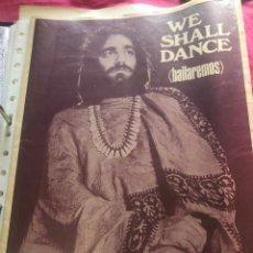 Partituras musicales: PARTITURA PARTITURAS WE SHALL DANCE BAILAREMOS DEMIS ROUSSOS DEMMIS ROUSOS RUSOS LP CD SINGLE DEMI. Lote 266043043