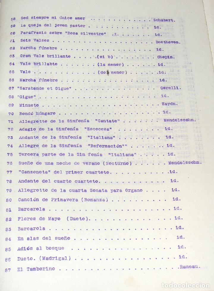Partituras musicales: LE CONCERT AU SALON - PARTITURAS PARA VIOLÍN Y PIANO ENCUADERNADAS - FINAL SXIX, PRINCIPIOS SXX. - Foto 8 - 244664200