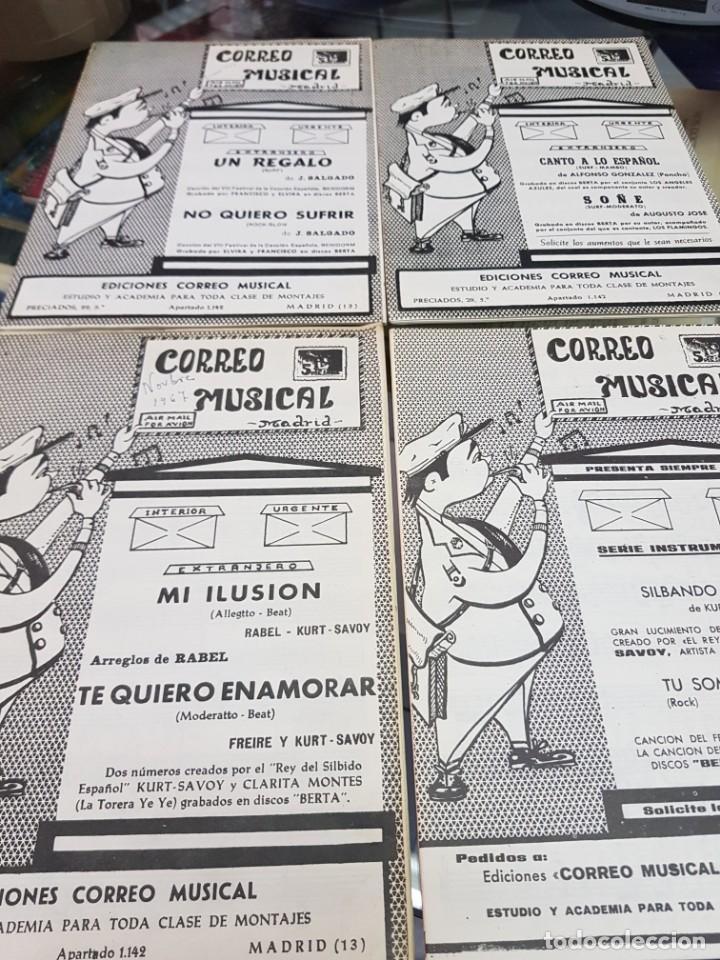 Partituras musicales: LOTE ANTIGUAS PARTITURAS EDICIONES CORREO MUSICAL - Foto 6 - 244828875