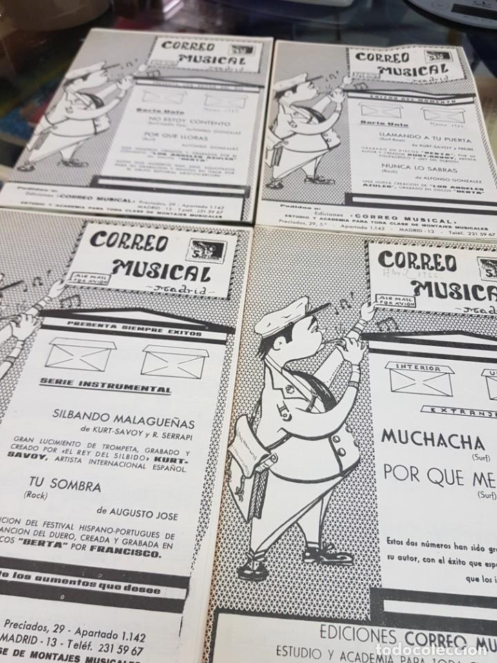 Partituras musicales: LOTE ANTIGUAS PARTITURAS EDICIONES CORREO MUSICAL - Foto 7 - 244828875