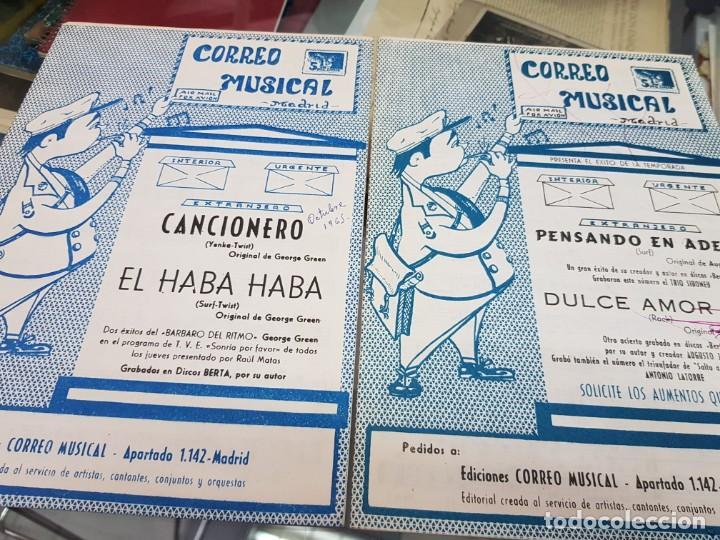 Partituras musicales: LOTE ANTIGUAS PARTITURAS EDICIONES CORREO MUSICAL - Foto 9 - 244828875
