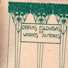 Partituras musicales: PABLO LUNA : LOS CALABRESES - SERENATA (UNIÓN MUSICAL, 1918). Lote 244887470